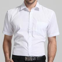 Men's Regular-fit Short Sleeve Solid/Twill/Striped Shirt Patch Left Ches... - $47.96