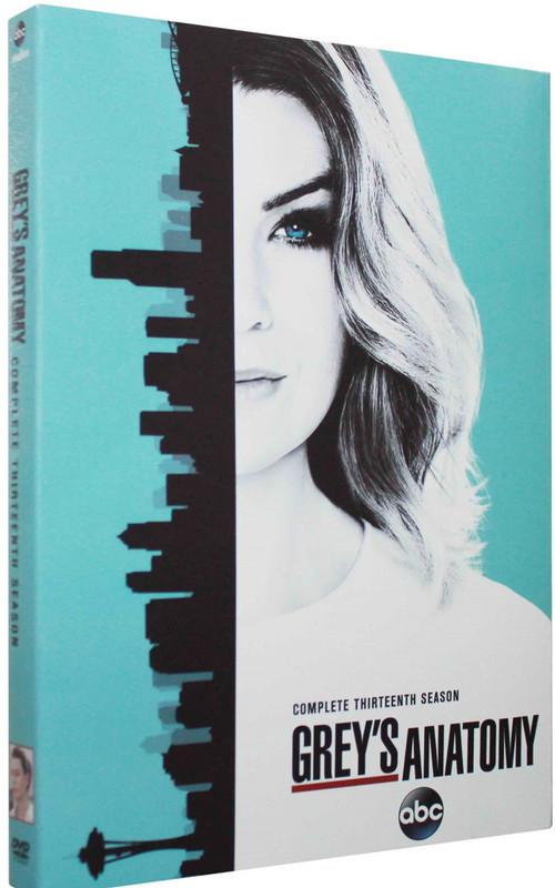 Grey's Anatomy The Complete Season 13 DVD Box Set 5 Disc Free Shipping