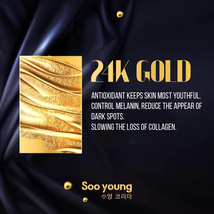 SOO YOUNG KOREA SERUM COLLAGEN ESSENCE 24K PURE GOLD GINSENG SKIN CARE image 12