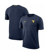 West Virginia Mountaineers Nike Dri-Fit Coaches Sideline Team Issue XL T... - $42.75