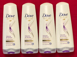 Lot of (4) Dove Volume & Fullness Conditioner 12 Oz each ( 48 oz ttl) - $5.00