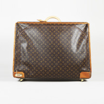 Vintage Louis Vuitton Monogram Coated Canvas Suitcase - $905.00