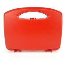 Playmobil Red Take Along Carry Case Storage Travel Geobra 2016 Plastic - $6.99