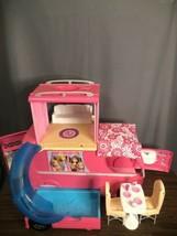 Barbie Dream Camper Van RV Motor Home With Pool And 2nd Story - $79.19