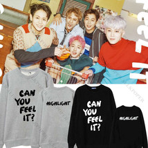 KPOP Highlight CAN YOU FELL IT Sweater Unisex YOSEOP Hoodie DUJUN Pullov... - $13.99