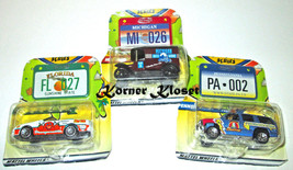 Lot of 3 Matchbox Across America 50th Birthday Diecast Vehicles & Licens... - $12.55