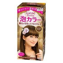 Kao Liese Reettia Bubble Hair Dye Royal Brown110Ml