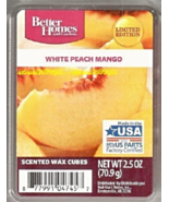 White Peach Mango Better Homes and Gardesn Scented Wax Cubes Melts Tarts - $3.50