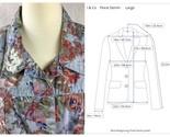 Denim co floral denim jacket large sizely collage thumb155 crop