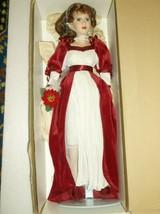 "Christmas around the world ""Christine noel"" 2001 porcelain Doll Box COA ... - $39.43"