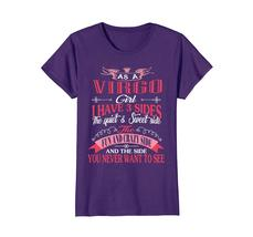New Shirts - As A Virgo Girl I Have Three Sides T-Shirt Birthday Gift Wowen image 4