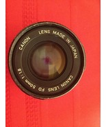 Canon FD 50mm f1.8 Manual Focus Camera Lens - $50.00