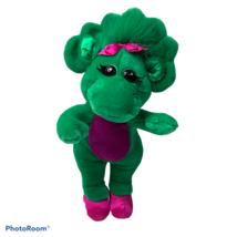 "1993 Vintage 14"" Baby Bop Green Dinosaur Plush - Lyons Group - Barney & ... - $15.00"