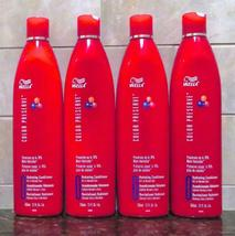 Lot of 4 Wella Color Preserve Hydrating Conditioner Dry/Normal Hair 12 oz. - $22.00