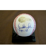KEN HARRELSON HAWK WHITE SOX BROADCASTER SIGNED AUTO 2005 WS GAME BASEBA... - $197.99