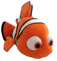 "Disney Store Finding Nemo Large 16"" Plush Pixar Clown Fish Stuffed Anima... - $42.84"