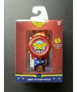 Wonder Woman Girls LCD Watch Light Up Strap - $29.99