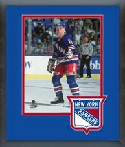Adam Graves 1991-92 New York Rangers Action-11x14 Matted/Framed Photo - $43.55
