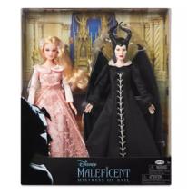 Original Disney Maleficent and Aurora Doll Set – Maleficent: Mistress of... - $98.99