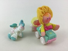 Smooshees Mary and Missy Mare Playset #7281 100% Complete Fisher Price 1988 - $22.23