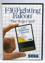 Sega Master System F-16 Fighting Falcon Game - $19.24