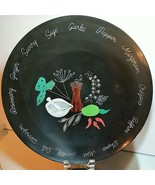 """COURAC of MONTERREY Herbs and Spices Large Salad / Serving Bowl 15.5"""" VI... - $33.24"""