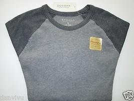 Sonoma Extra Soft Cotton LSLV Thermal Crewneck Men T-Shirt Grays S $32 UPC24 - $13.18