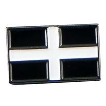 cornwall county flag,square uk Metal Enamel Lapel Pin Badge Lapel /tie Pin Badge