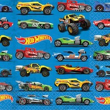 Hot Wheels Wild Racer Dessert Beverage Napkins 16 Napkins Per Package NEW - $4.01