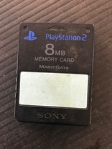 Official OEM Sony Playstation 2 PS2 8MB Magicgate Memory Card E79 - $7.07 CAD