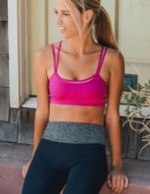 Fuchsia Double Layer Sports / Yoga Bra - $44.91