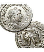 PHILIP II Tetradrachm Choice XF Eagle SC. Ancient Roman Empire Coin Anti... - $332.10