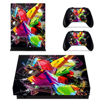 Tech wallpaper Xbox One X console into a piece of art with one of our stick-on X - $15.00
