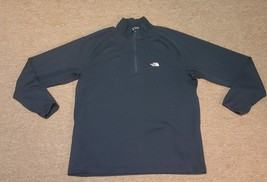 The North Face Zip Neck Navy Pullover Shirt Jacket Mens Size XL Flat Sea... - $25.72