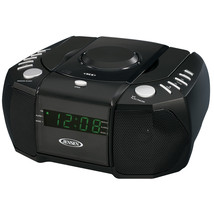 Jensen AM/FM Stereo Dual Alarm Clock Radio with Top Loading CD Player, D... - $58.65