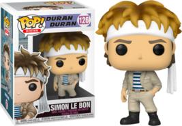 Duran Duran Band Simon Le Bon Music POP! Vinyl Figure Toy #126 FUNKO NEW... - $12.55