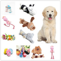 Pet Dog Squeak Sound Plush Toy Pet Puppy Chew Play Funny Training Squeaking Toys - $6.27