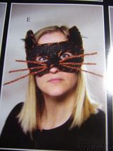 Bethany Lowe Halloween Cat Mask no. LO6456 image 1