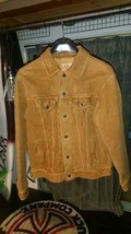 GAP Authentic 2002 Vintage Cow Leather Jacket Brown Mens Size M New Unused - $259.99