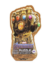 Marvel Avengers Infinity Gems Thanos Gauntlet 48-piece Jigsaw Puzzle Metal - $7.87