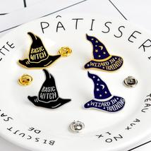 New-style Cute Cartoon Magic Hat Brooch Pin - $1.99