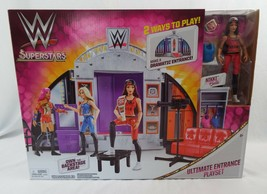 Mattel WWE Superstars Ultimate Entrance Playset Nikki Bella + Extras - $26.42
