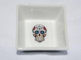 Porcelain Ring Dish - Sugar Skull (Handcrafted)  - $14.95