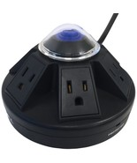 ACCELL D080B-013K Powramid 6-Outlet Power Center and Surge Protector (Bl... - $47.49