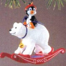 Hallmark Keepsake Ornament Bearback Rider 1990 - $4.95