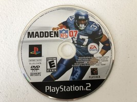 Madden 2007 - Playstation 2 PS2 - Cleaned & Tested - $3.88