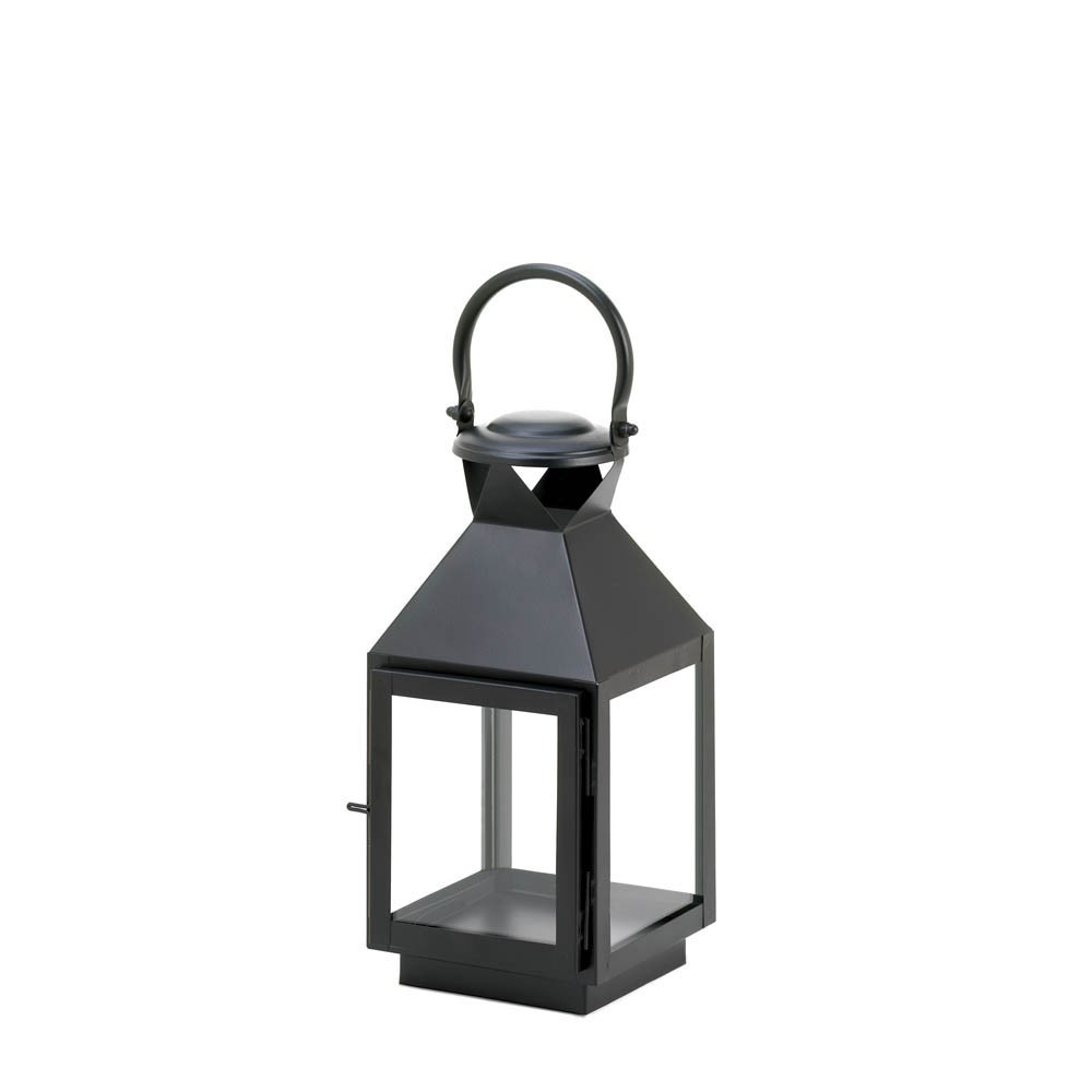 Medium Classic Black Candle Lantern 10015219