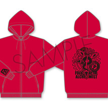 Fullmetal Alchemist Hagaren Red Hoodie L size (for Japanese) Hoody Anime... - $144.53