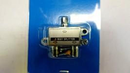 Ideal 85-032 CATV Cable Splitter 2 Way Splitter Pack of 6 New image 2