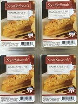 ScentSationals Warm Apple Pie Wax Cubes, 4 Pack - $17.15